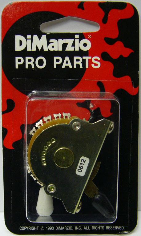DiMarzio EP1112 5 way Switch for Strat, Multipole – Prospec